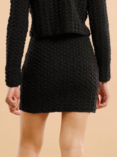 Bilde av By TiMo Wool Crochet Skirt