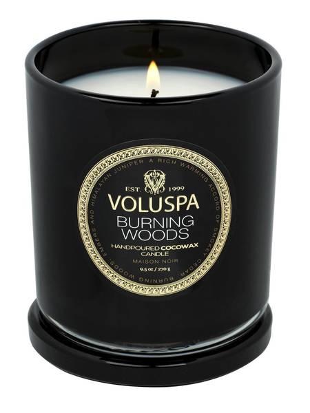 Bilde av Voluspa Boxed Candle Burning
