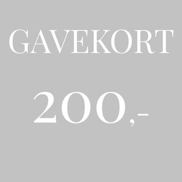Bilde av Gavekort 200,-